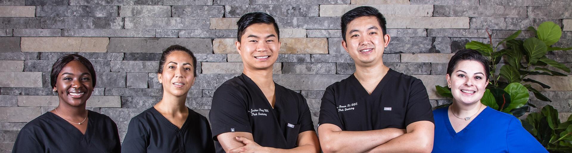 Peek Dentistry team